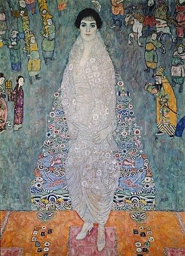 Gustav Klimt: Bildnis der Baronin Bachofen-Echt. 1915/1916.