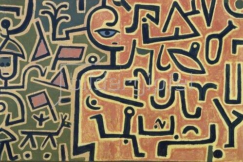 Paul Klee: Vorhaben (Entwurf). 1938