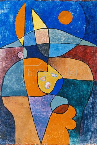 Paul Klee: Bauerngarten in Person. 1933 L.13.