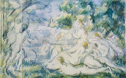 Paul Cézanne: Badende.