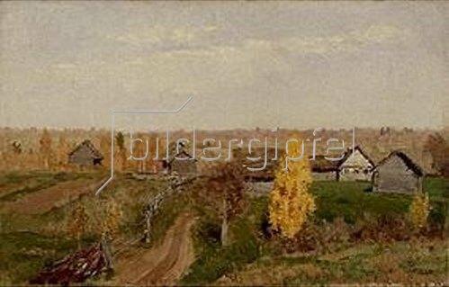 Isaak Iljitsch Lewitan: Goldener Herbst. 1889.