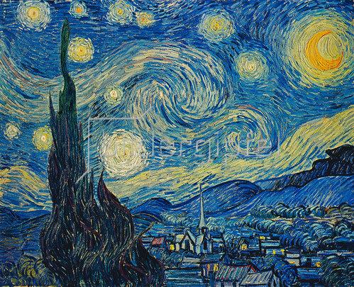 Vincent van Gogh: Sternennacht. 1889