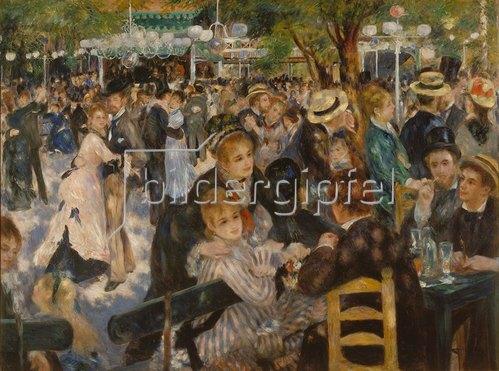 Auguste Renoir: Ball im Restaurant Moulin de la Galette auf dem Montmartre. 1876