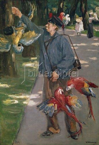 Max Liebermann: Der Papageienmann. 1901/1902