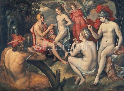 Frans Floris de Vriendt: Das Urteil des Paris.