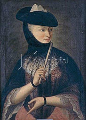 Anonym: Bildnis der Vittoria de Porzelli.