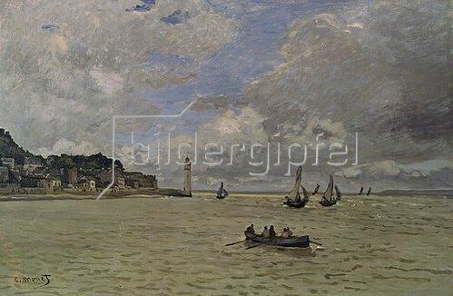 Claude Monet: Der Leuchtturm von Honfleur.