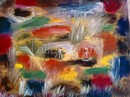 Paul Klee: Schilfschiffe. 1919