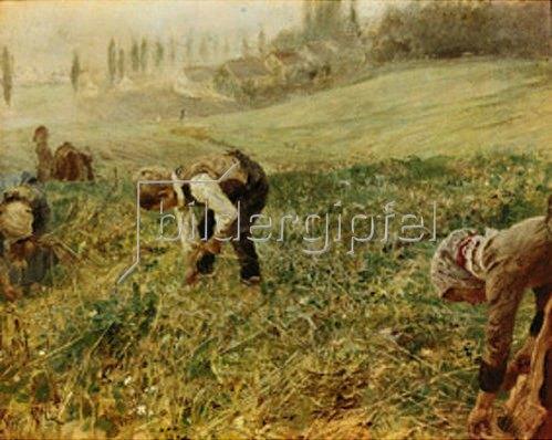 Fritz von Uhde: Die Ährenleser. 1889