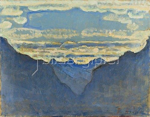 Ferdinand Hodler: Mondnacht.