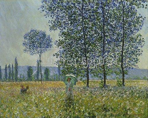 Claude Monet: Felder im Frühling. 1887