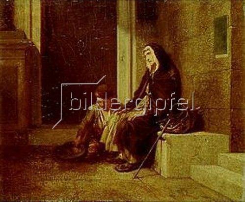 Alexandre Gabriel Decamps: Die Bettler. 1845.