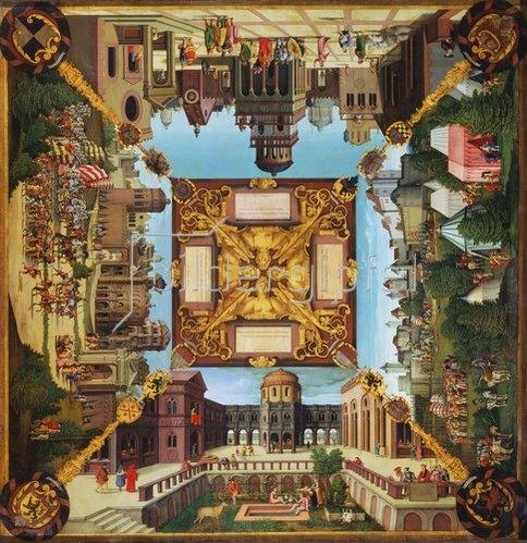 Hans Sebald Beham: Episoden aus dem Leben Davids. 1534.