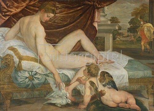 Lambert Sustris: Venus und Amor.