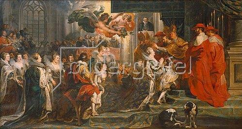 Peter Paul Rubens: Die Krönung der Maria de'Medici zur Königin in Saint-Denis am 13. Mai 1610.