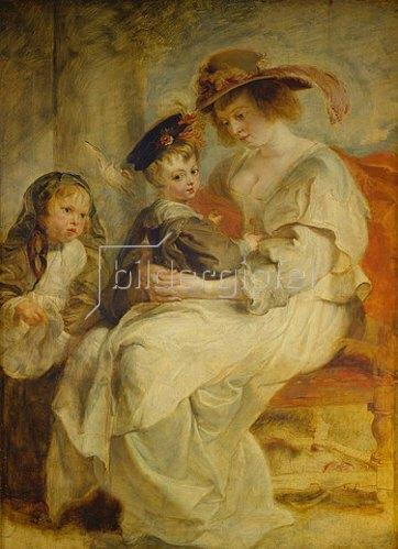 Peter Paul Rubens: Helene Fourment und ihre Kinder. 1636/1637.