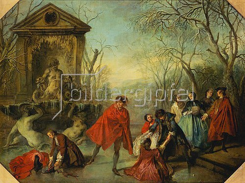 Nicolas Lancret: Der Winter. 1738.