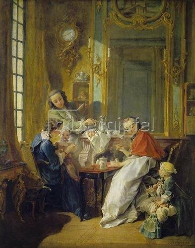François Boucher: Das Frühstück (Le déjeuner). 1739