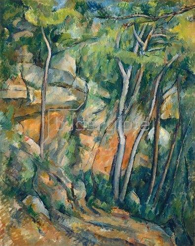 Paul Cézanne: Im Park des Chateau Noir.