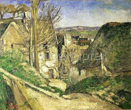 Paul Cézanne: La maison du pendu (Auvers-sur-Oise). 1873.