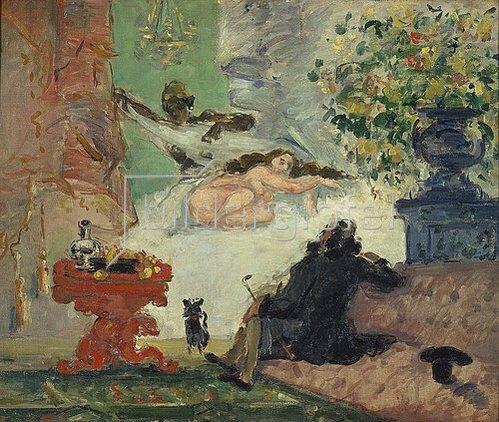 Paul Cézanne: Eine moderne Olympia. 1873/1874.