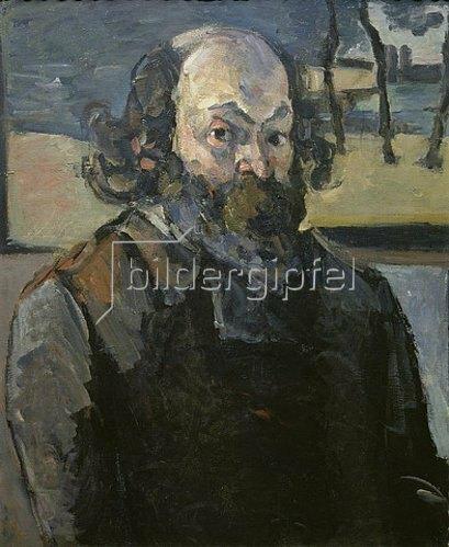 Paul Cézanne: Selbstbildnis 1873/1876.