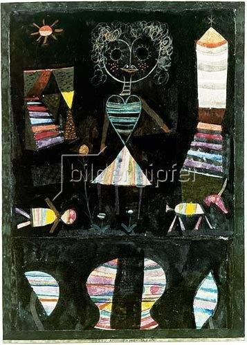 Paul Klee: Puppentheater. 1923