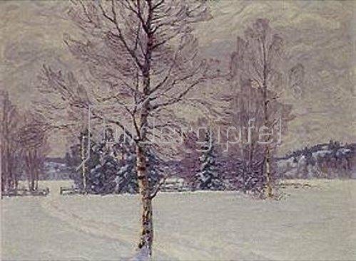 Carl Johansson: Wintertag in Schweden. 1929.