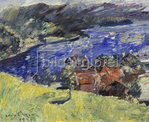 Lovis Corinth: Walchensee (Die gelbe Wiese). 1921