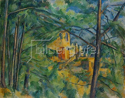 Paul Cézanne: Aussicht auf das Chateau Noir. 1894/1896.