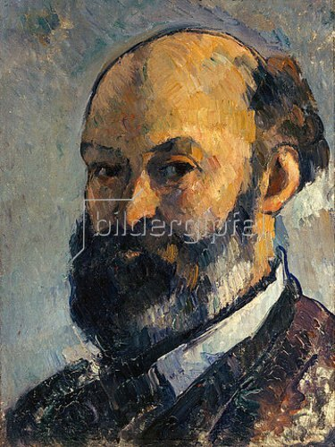 Paul Cézanne: Selbstbildnis. 1879/1882.