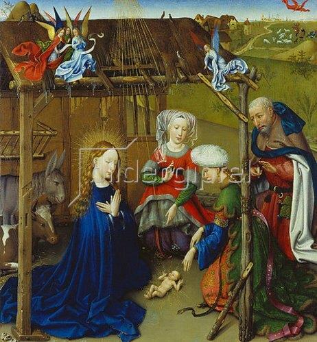 Jacques Daret: Geburt Christi.