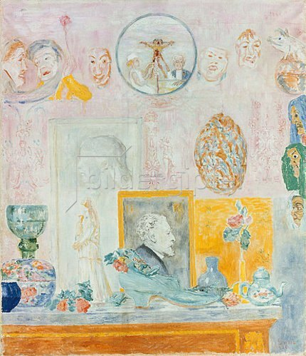 James Ensor: Souvenirs. 1926.