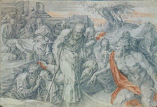 Theodoor Thulden: Die Barke des Charon.