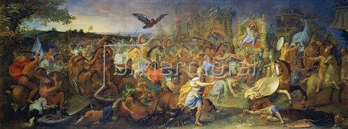 Charles Le Brun: Die Schlacht von Arbelles.