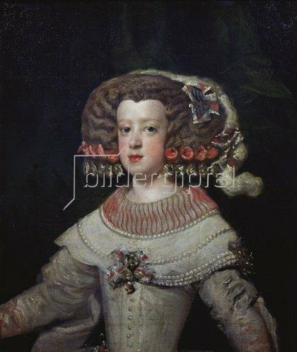 Diego Rodriguez de Velazquez: Die Infantin Maria-Theresia.