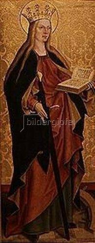 Bartholomeus Zeitblom: Die hl.Katharina.