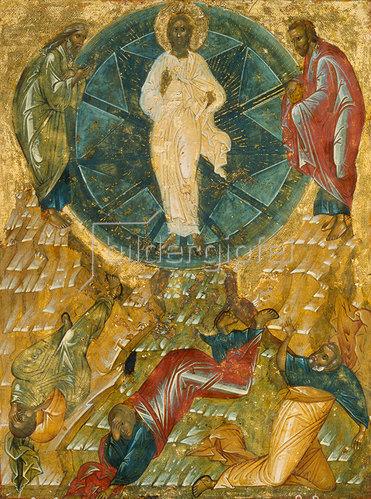 Ikone russisch: Die Verklärung Christi.