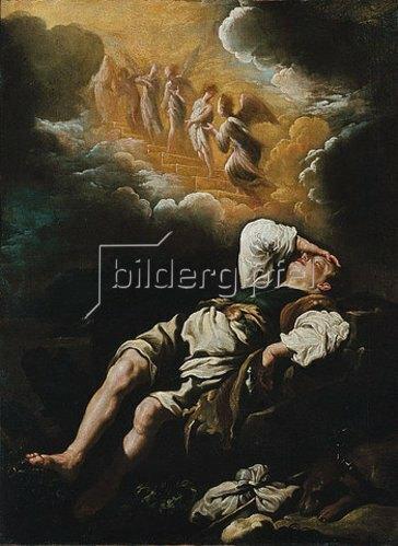 Domenico Fetti: Jakobs Traum von der Himmelsleiter.