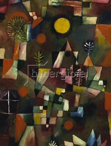 Paul Klee: Der Vollmond. 1919.