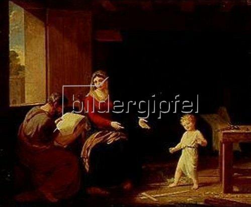 François Guillaume Ménageot: Die heilige Familie.