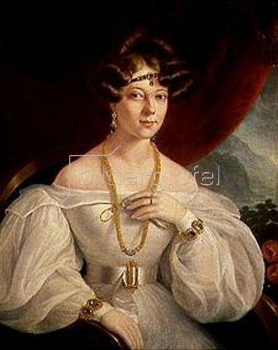 Miklos Barabas: Damenbildnis. 1831.