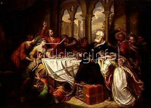 Soma Orlai-Petrich: Der Zorn des Felician Zach. 1860.