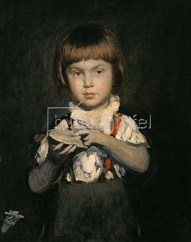 Bertalan Székely: Knabe mit Butterbrot. Um 1875.