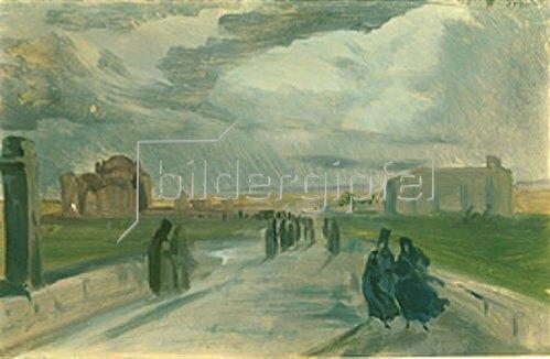 Johann Moritz Rugendas: Landstraßenszene in Chile. Um 1830