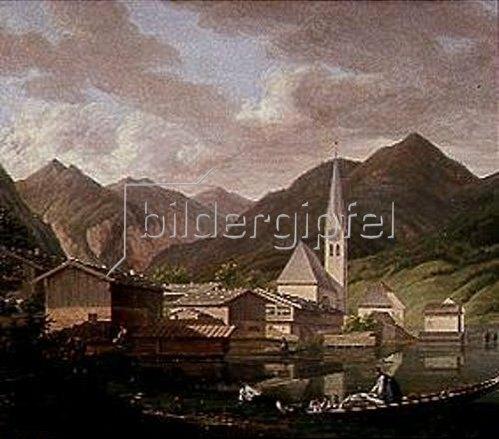 Ferdinand Wilhelm von Couven: Ansicht von Egern. Um 1830