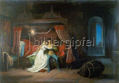 Eugene-Antoine Guillon: Romeo und Julia.