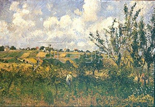 Camille Pissarro: Landschaft bei Pontoise. 1878