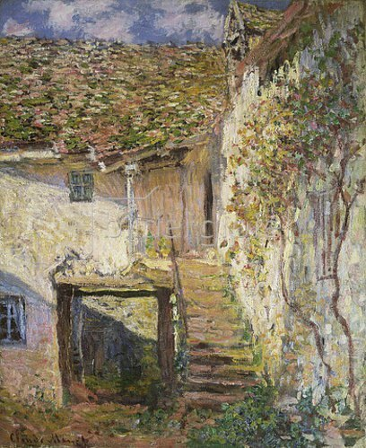 Claude Monet: Die Treppe. 1878