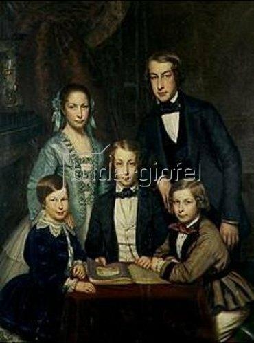 Fritz Hickmann: Die Familie des Künstlers.